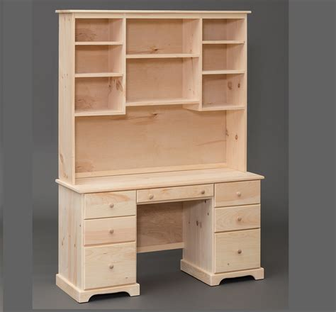 Pine Desk Hutch Pine Desk With Hutch Hostgarcia