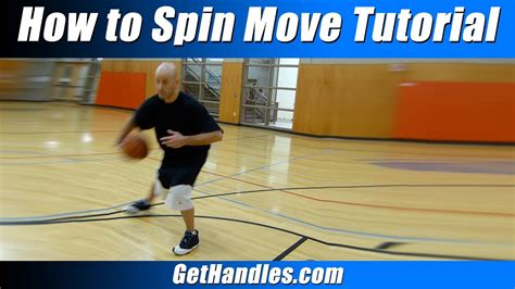 """How To Spin Move Tutorial  """"basketball Basics"""" For"""