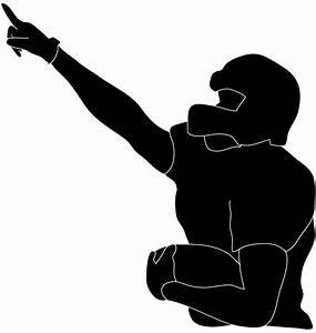 Football Player Standing Drawing | Clipart Panda - Free ...