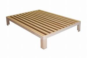Cadre De Lit 120x190 : sommier en bois polaris longueur 200 ~ Teatrodelosmanantiales.com Idées de Décoration