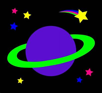Planets Space Planet Stars Cartoon Clipart Clip