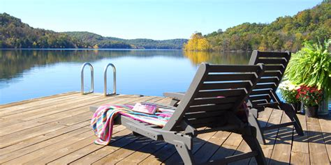 beaver lake boat dock for guests of beaver lakefront cabins