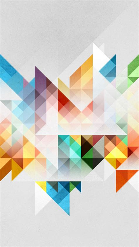 Abstract Cool Geometric Shapes by Abstraction Geometry Shapes Colors