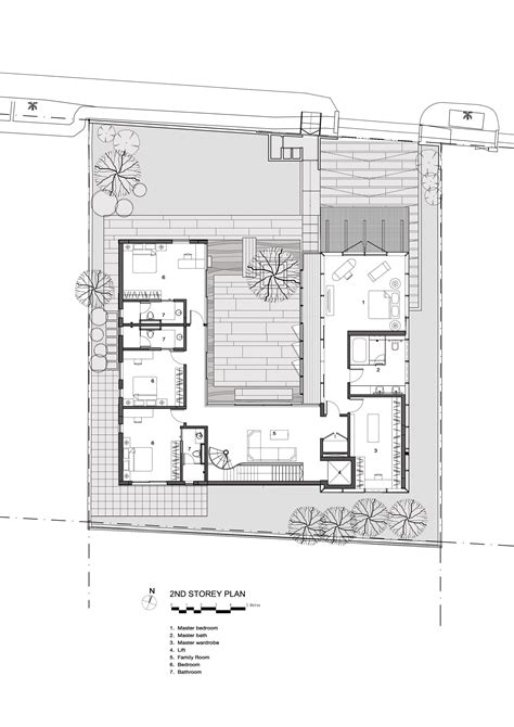 courtyard house plans gallery of the courtyard house ar43 architects 17