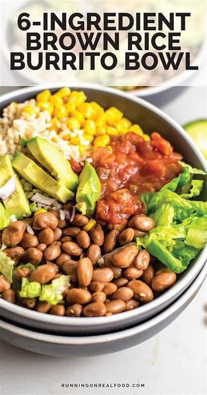 Brown Rice Burrito Bowl Recipes Healthy Recipe