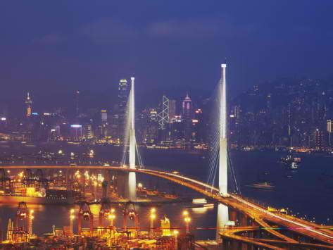 stonecutters bridge  engineering marvel  hong kong
