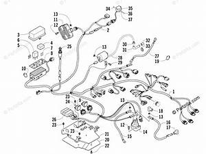 Arctic Cat Atv 2008 Oem Parts Diagram For Wiring Harness Assembly