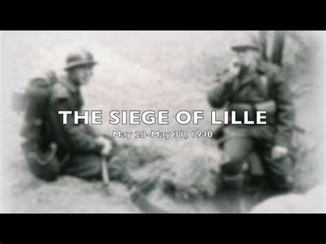 siege of lille the siege of lille 1940
