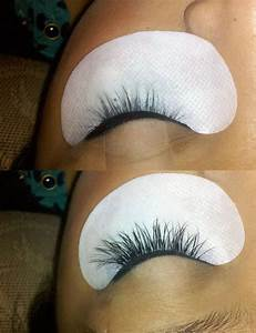 eyelash extensions-before and AFTER! | Yelp