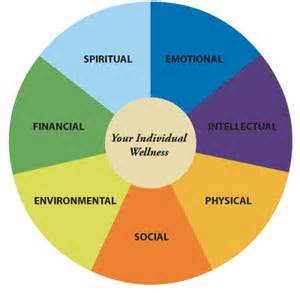 Wellness Wheel Physical Mental Emotional Spiritual