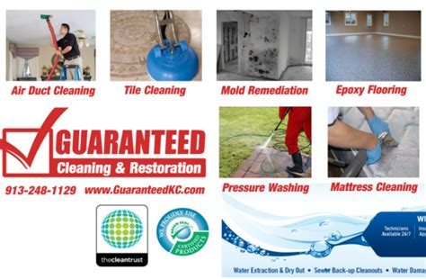 guaranteed clean maintenance guaranteed cleaning restoration carpet cleaning water damage restoration a listly list