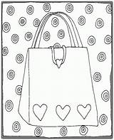 Coloring Purse Purses Colouring Thirty Clay Pot Gumball Gifts Super Machines sketch template