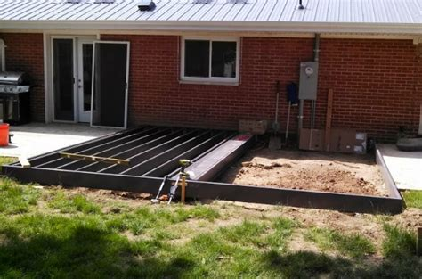 Trex Decking Support Spacing by House Tweaking