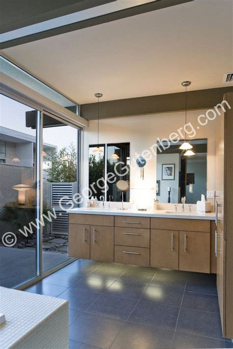 Mid Century Modern Bathroom Colors by Stock Photo Of Mid Century Modern Bathroom Cabinet Design