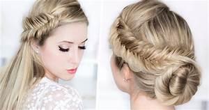Coiffure Tresse Facile Cheveux Mi Long : coiffure chic cheveux mi long tendances 2019 ~ Melissatoandfro.com Idées de Décoration