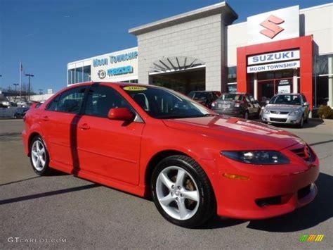 2005 Volcanic Red Mazda Mazda6 I Sport Hatchback #46183436