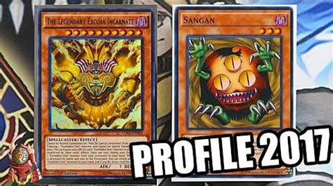 video yugioh the best exodia deck profile ft sangan