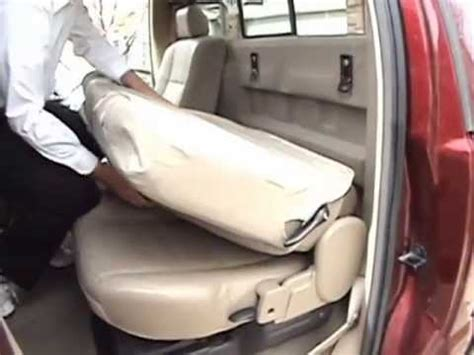 Installing Precisionfit 6040 Rear Seat Covers Youtube
