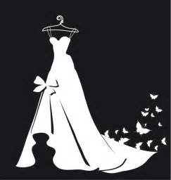 butterfly wedding invitations wedding silhouettes and butterflies festival vector