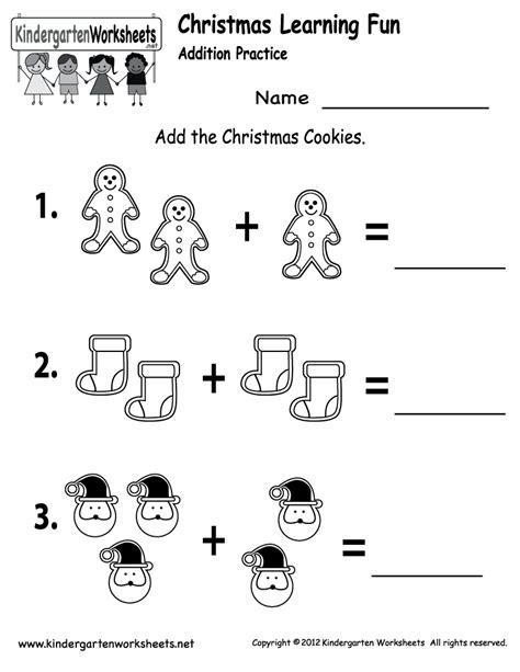 Free Printable Holiday Worksheets  Free Christmas Cookies Worksheet For Kindergarten Kids