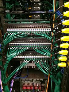 Network Rack Wiring