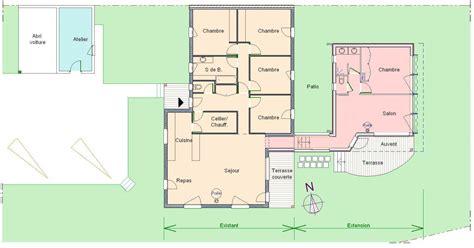 bureau dans une chambre les 5 é d une extension de maison plain pied réussie
