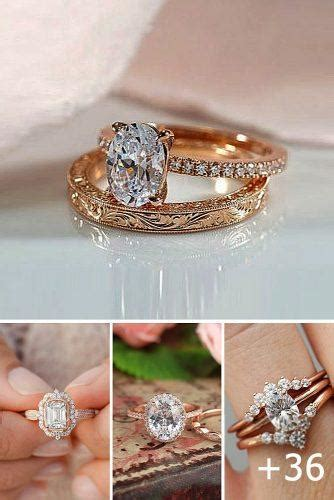 36 rose gold engagement rings that melt your heart