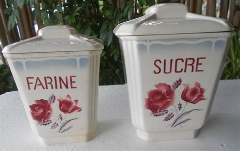 2 pots a epices sarreguemines digoin modele quot alesia quot decor de roses what a great find from ebay