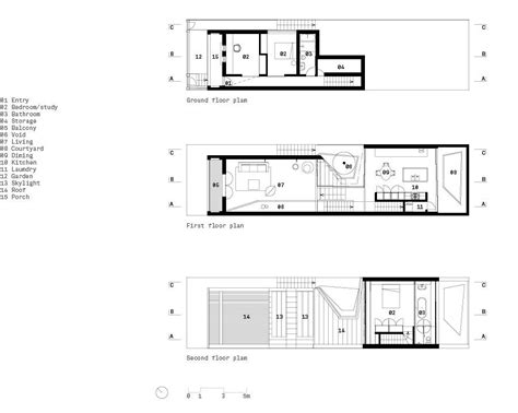 House Architecture Plans by Skylight House By Chenchow Architects Skylight