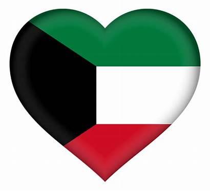 Kuwait Flag Heart Pedersen Roy Tote Transparent