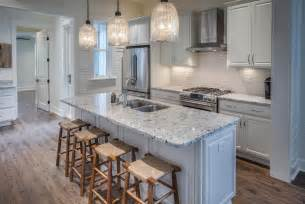 kitchen counter tops ideas traditional kitchen with subway tile one wall in santa