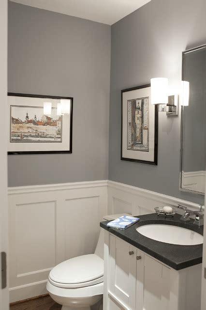 york area interior traditional powder room  york  debra kling colour consultant