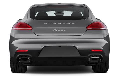 rear view 2015 porsche panamera reviews and rating motor trend
