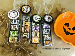 Halloween Hershey Nugget Treats-For Party Favors, Trick-O ...