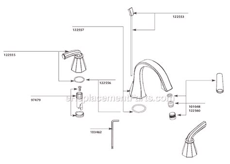 moen ts448 parts list and diagram ereplacementparts com