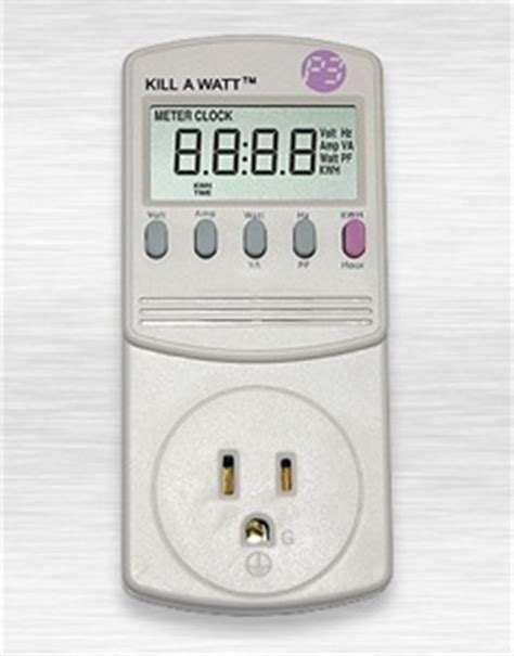 Kill Watt Electricity Usage Monitor Low