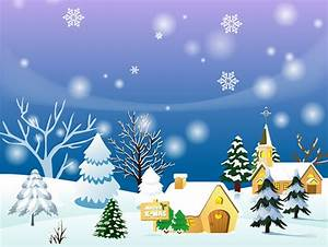 Winter clipart background