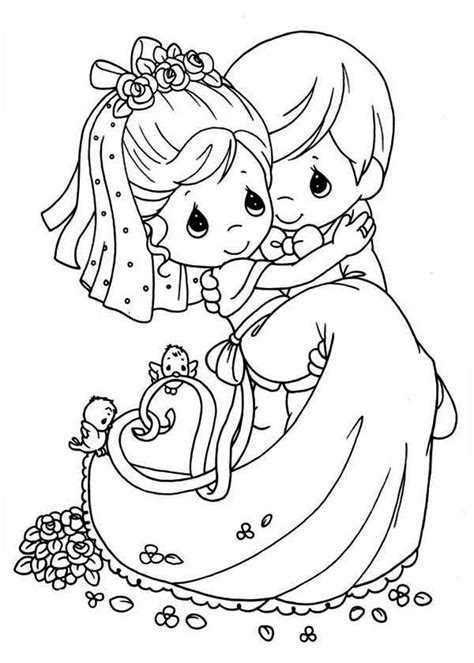 wedding coloring pages ideas  pinterest kids