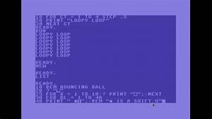 Basic Programming On The C64