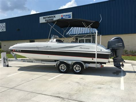 2014 Hurricane Boat by Hurricane 231 Deck Boat 2014 For Sale For 41 900 Boats