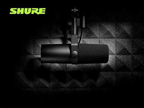 Shure SM7B Cardioid Dynamic Microphone - Streamer space