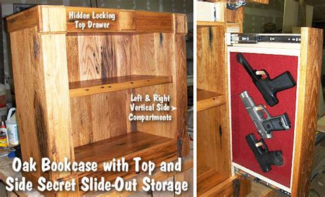 Magnetic Locks For Furniture by Bookcases With Secret Storage Compartments For Valuables