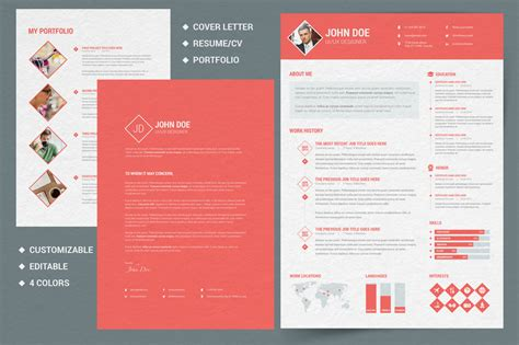 illustrator resume templates berathen