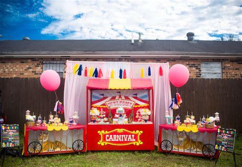 Kara's Party Ideas Backyard Carnival Birthday Party Kara