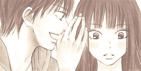 Anime Kiss Gif Cute The Gallery For Gt Cute Anime Couples Kissing Tumblr