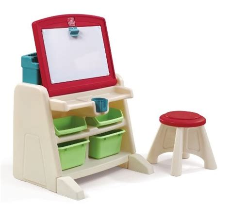amazon step2 flip and doodle desk with stool easel only