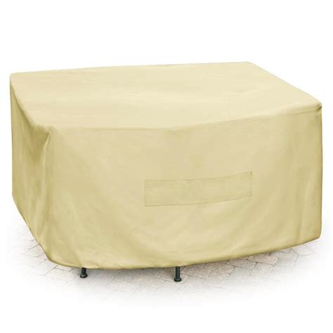 mr bbq premium square patio set cover 13593614