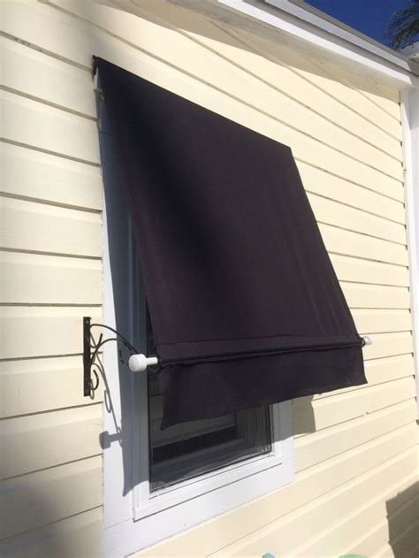 home  awning   sun  beating   hallway inexpensive alternative hurricane