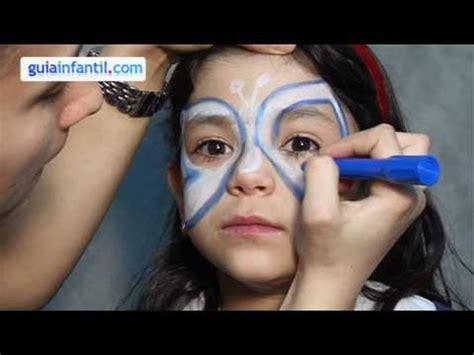 maquillage des enfants papillon