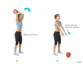 Medicine Ball Slam Exercise